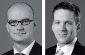 Michael Schwartzkopff. Partner, und Axel Hoppe, Managing Associate, LLR Legerlotz Laschet