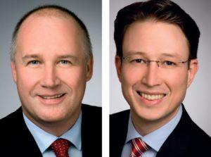 Klaus Schmidt und Dr. Konrad von Nussbaum, Geschäftsführer, ADEUS Aktienregister-Service-GmbH