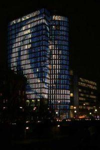 uniqa tower nacht