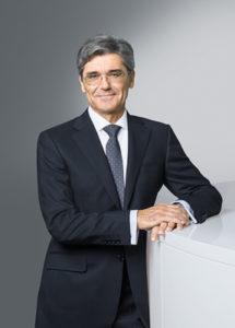 Siemens-Chef Joe Kaeser plant Umstrukturierungen des Elektro-Konzerns