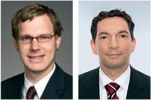 Karl Richter und Joachim Lorenzen, Management-Consultants, UBJ. GmbH