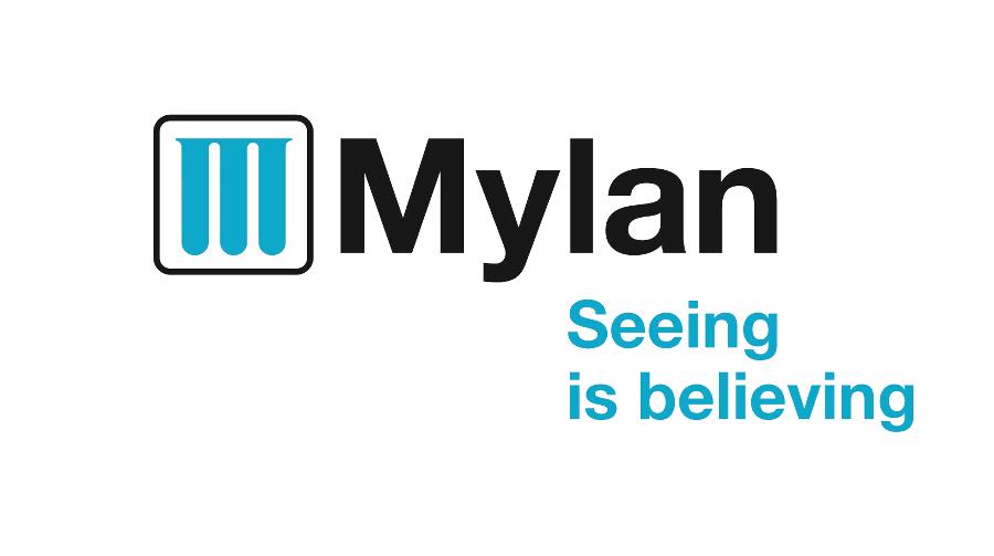 Logo und Slogan der Firma Mylan. Rechte: Mylan Inc.