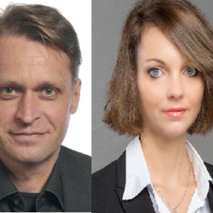 Robert Michels und Valeria Hoffmann, Dentons