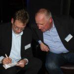 Kay Bommer (Geschäftsführer DIRK),Klaus Schmidt (Geschäftsführer ADEUS)