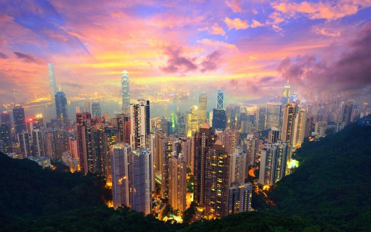 Blick auf Hong Kong, chinesischer IPO Markt