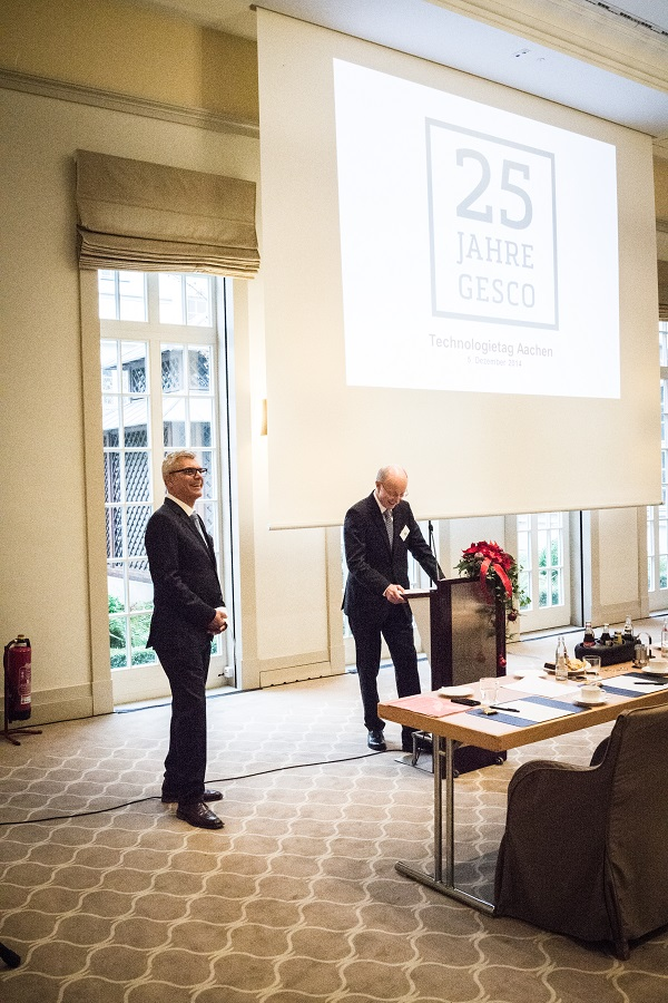 Dr. Hans-Gert Mayrose und Robert Spartmann