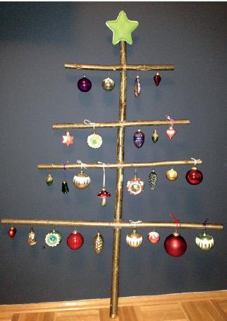 Weihnachtsbaum für Faule