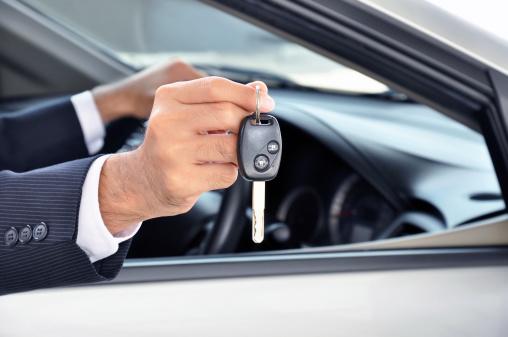Leasing, Schlüssel, Autovermietung