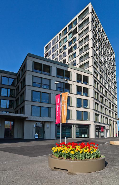 Neuer FAS Standort in der Europaallee in Zürich
