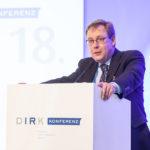 Kay Bommer, Geschäftsleiter des DIRK, auf der 18. DIRK Konferenz