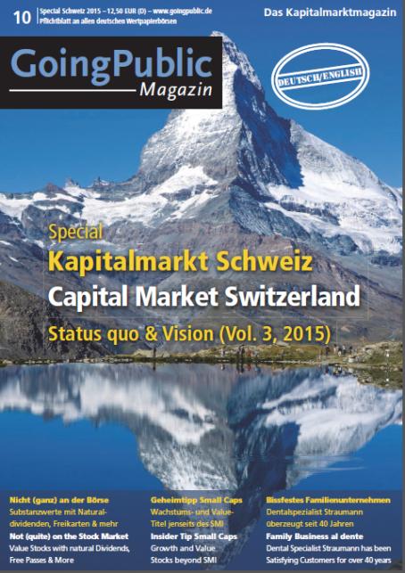 Special Schweiz 2015