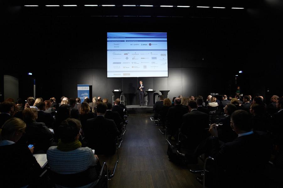 Eröffnung der diesjährigen C.I.R.A.-Jahreskonferenz am 14. Oktober in Wien
