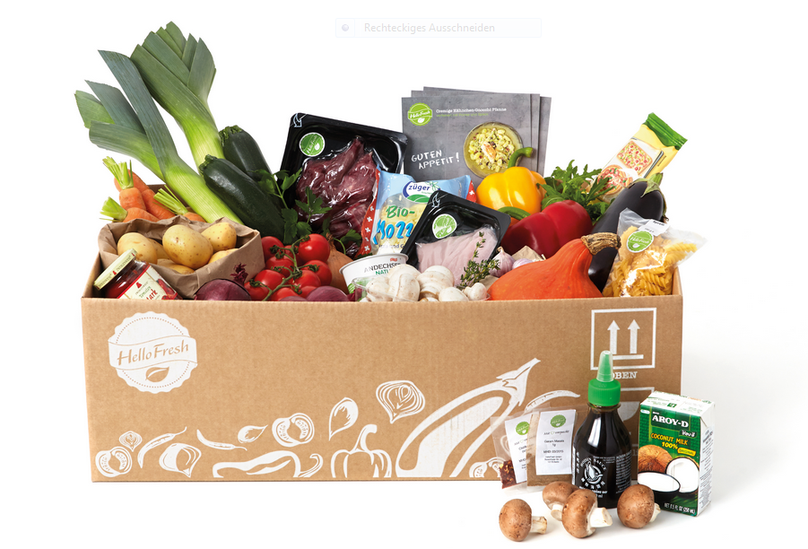 HelloFresh Kochbox