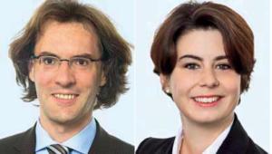 Dr. Thorsten Kuthe, Partner am Kölner Standort von Heuking Kühn Lüer Wojtek und Felicitas Boehm, LLM, Rechtsanwältin bei Heuling Kühn Lüer Wojtek in Köln