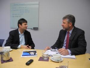 HV Magazin-Redakteur Oliver Bönig im Gespräch mit Steffen Herfurth von Computershare (CEO Kontinentaleuropa)