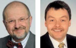 Dr. Joachim Fleing und Christoph Schlienkamp