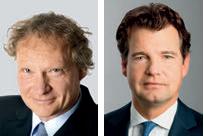 Bernhard Orlik, Vorstand HCE Haubrok AG und Marc Tüngler, Hauptgeschäftsführer DSW e.V.