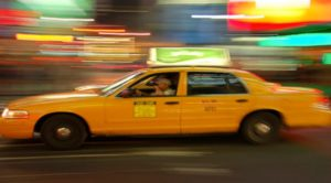 Taxi in Motion; Quelle: Uber