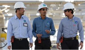 Mitarbeiter des Öl-Multis Aramco. Fotos: Saudi-Aramco.