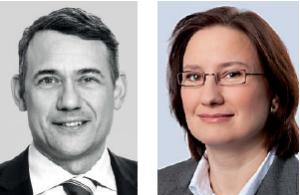 Dr. Flemming Moos (Osborne Clarke) und Dr. Charlotte Brigitte Looß (MATHEE GmbH)