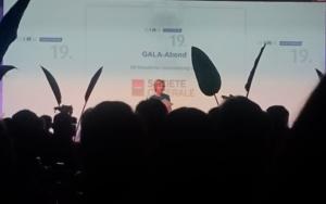 Preisverleihung auf der DIRK Konferenz, moderiert von Corinna Wohlfeil (n-tv)