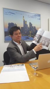 Decheng-CFO Ooi Guan Hoe (Rick) im Gespräch mit dem GoingPublic Magazin.