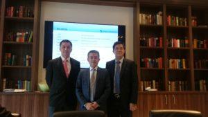 Das Vorstands-Team von Decheng:
