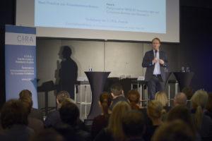 Keynote von Prof. Markus. Hengtschläger. Foto: C.I.R.A./APA-Fotoservice/Bargad