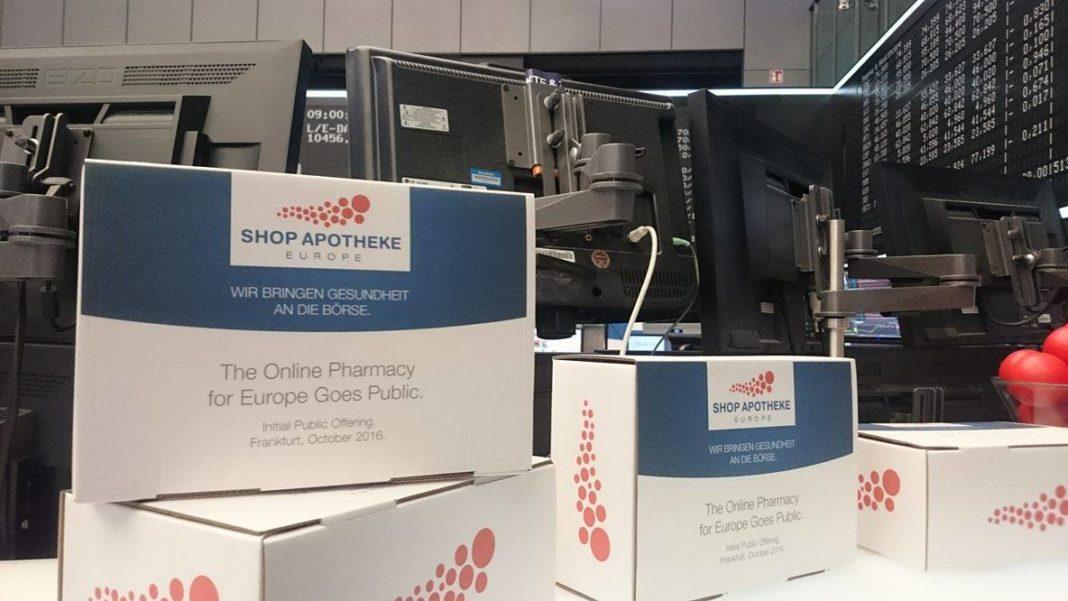 Mit Pharma an die Börse: Zum Start des Börsengangs hatte die Shop Apotheke fleißig Päkchen gepackt