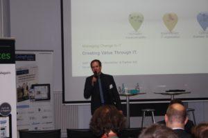 Marcel Wiskow, Director Investor Relations & Corporate Governance bei SNP