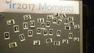 IR-Moments 2017 auf einer Polaroid Leinwand.
