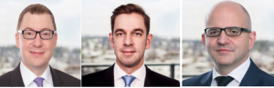 Neue Partner v.l.n.r.: Dr. Christian Herold, Nils Klamar und Jürgen Diehm.