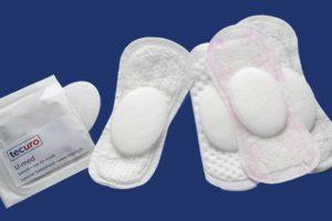 Die ovalen Pads können in einer Slipeinlage getragen werden und dienen der Bekämpfung von Harnwegsinfekten.