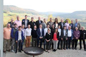 Teilnehmer der Kick-off-Veranstaltung mit Vertretern aus Deutschland und den USA