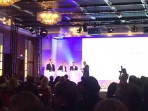 Podiumsdiskussion über Rolle von IR und des Aufsichtsrats.