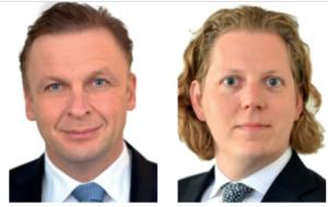 Dr. Norbert Bröcker und Andreas Hecker, Rechtsanwälte und Partner bei Liebs Fritsch & Partner RA.