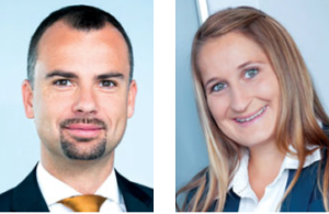 Die Gastautoren: Peter Felsbach, Head of Group Communications, voestalpine und Viktoria Steininger, aus der Abteilung Group Communications der voestalpine.