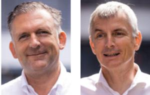 Oliver Neidhardt und Rolf Traber