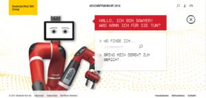 Digitale Berichterstattung, wie sie sein sollte: Die Website der Deutsche Post DHL Group wird als vorbildlich bewertet. Quelle: NetFederation/Deutsche Post.