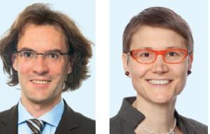 Thorsten Kuthe und Madeleine Zipperle, Heuking Kühn Lüer Wojtek.