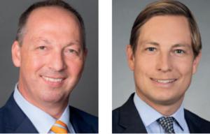 Falk Müller-Veerse und Nicholas Hanser vom Investmenthaus Bryan Garnier, Deutschland.
