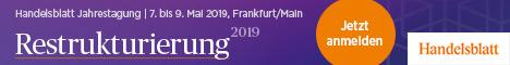 Handelsblatt Jahrestagung 2019