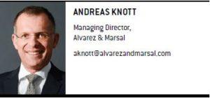 Andreas Knott, Managing Director, Alvarez & Marsal