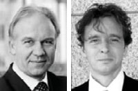 Dieter Lingelbach (COO) und Dr Christian Thirion (CTO)