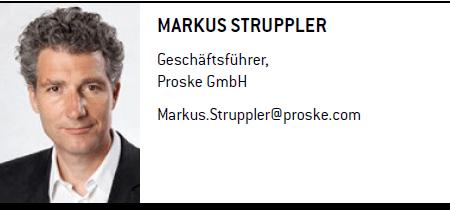 Markus Sruppler - Geschäftsführer, Proske GmbH