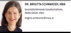 Dr. Brigitta Schwarzer - Geschäftsführende Gesellschafterin, INARA GmbH