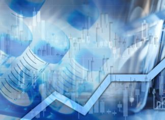 Healthcare medical biopharmaceutical investing stock chart