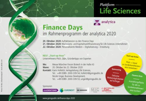 analytica Finance days
