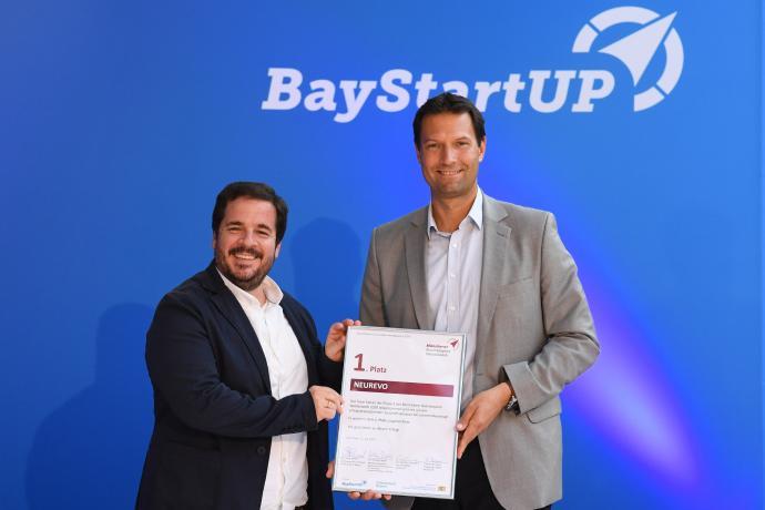 Biotech-Start-up NEUREVO gewinnt Münchener Businessplan Wettbewerb 2020