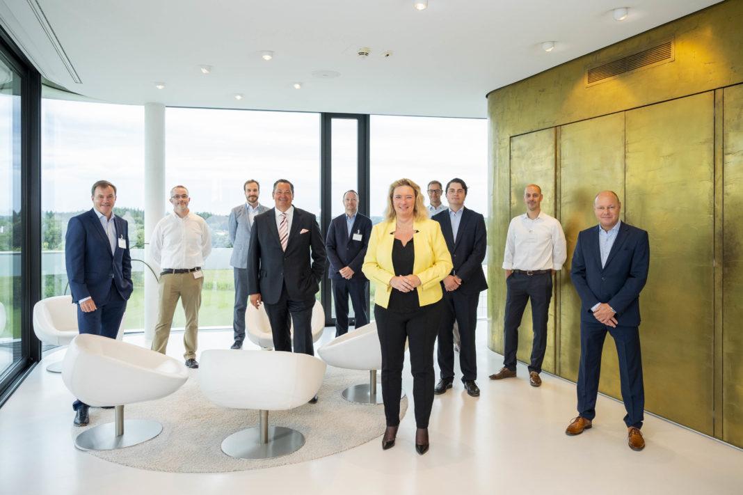 Presselounge im IZB: Gemeinsam gegen Corona